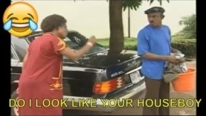 Video: Nigerian Comedy Clips - Do I Look Like Your Houseboy